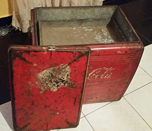 Vintage Coca Cola Coke 1950's Cooler Freezer In Fair Condition RARE 2