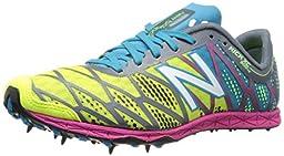 New Balance Women\'s WXC900 Cross Country Spike Shoe,Pink/Blue,11 B US