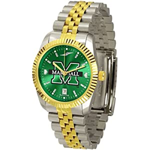 Marshall Thundering Herd NCAA AnoChrome Executive Mens Watch by SunTime