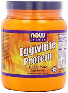 NOW Foods Eggwhite Protein, 1.2 Pound