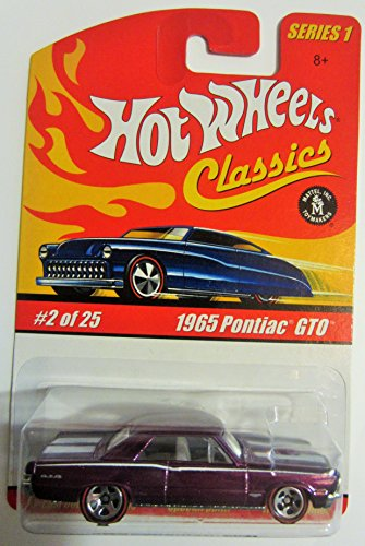 Hot Wheels Classics Series 1 - Purple 1965 Pontiac GTO 2 of 25 - 1