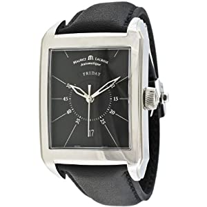 Maurice Lacroix Men's PT6137-SS001-32E Pontos Rectangulaire Watch