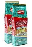 Cafe Rey Espresso Costa Rica Ground Premium Coffee- 14.08 Oz (400 Gr) 2 Pack