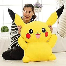 AmazingOS® Large Toy Factory Pokemon Pikachu Plush XY Stuffed Doll 16\