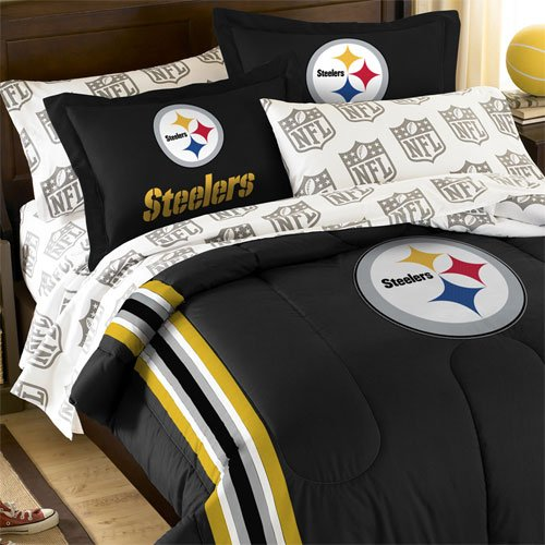 Best 5pc Nfl Steelers Bedding Set Pittsburgh Football