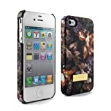 Ted Baker Hard Shell Apple iPhone 4 Case II - Women's - Blossom (Black Base)