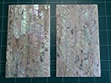 Mexican Green abalone shell inlay veneer sheets 9.5 x 5.5 x 0.006 inch