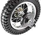 Jaguar Power Sports MX350/MX400 Rear Wheel Assembly