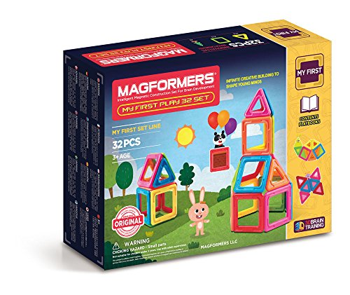 MAGFORMERS My First Play Set (32 Piece) JungleDealsBlog.com