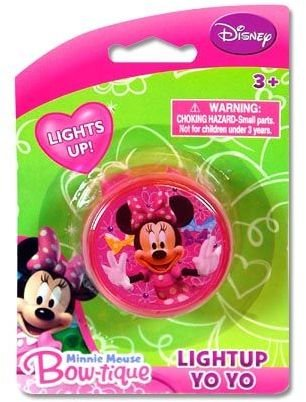 Disney Minnie Mouse Light Up Yo Yo - Minnie Lightup Yo-Yo - 1