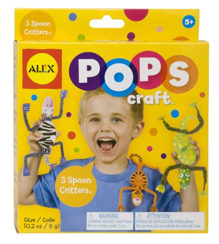 ALEX Toys POPS Craft 3 Spoon Critters - 1