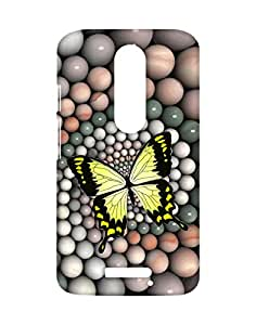 Mobifry Back case cover for Motorola Moto X 3rd generation Mobile ( Printed design)