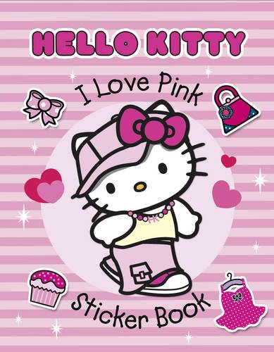 Hello Kitty - I Love Pink Sticker Book