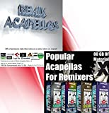Acapellas for Remixers - Volumes 1 - 10 (Complete set) - READ DESCRIPTION FOR DETAILS - (Full acapellas not just samples)