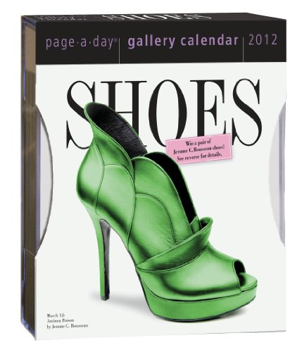 Shoes Gallery Calendar 2012 (Page a Day Gallery Calendar)