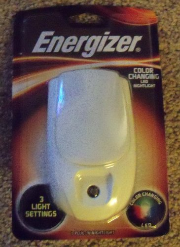 Energizer Color Changing Led Nightlight New/Box