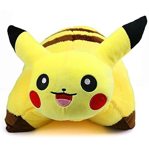 New Pikachu Pokemon  Sleep Cushion Soft Plush 42 X 33 Cm Doll Pillow by Tianxing - 516zGgIH 2BFL - New Pikachu Pokemon  Sleep Cushion Soft Plush 42 X 33 Cm Doll Pillow by Tianxing
