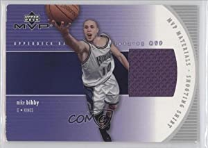 Mike Bibby Sacramento Kings (Basketball Card) 2002-03 Upper Deck MVP MVP Materials... by Upper Deck MVP