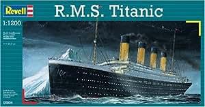 Revell 1:1200 R.m.s. Titanic Belfast Ship Model Kit Set (05804)