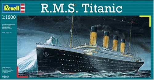 Revell R.M.S. Titanic Plastic Model Kit (Titanic Model compare prices)