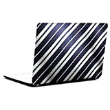 AMEZ Abstract Black And White Line 15.6 Inch Laptop Skin Decal
