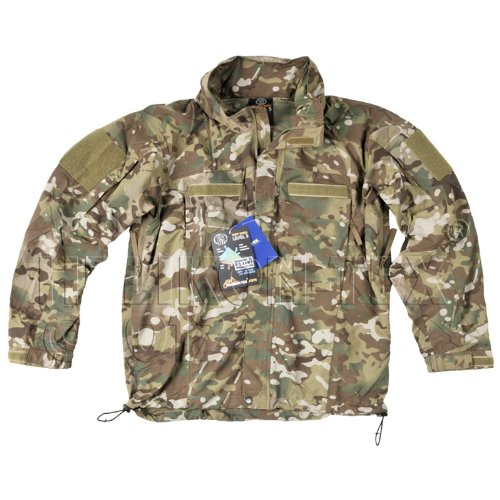 Helikon Tactical Mens Soft Shell Jacket Ver. II Windproof Hooded MultiCam Camo