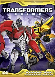 Transformers Prime Series 1 Part 2 [DVD]