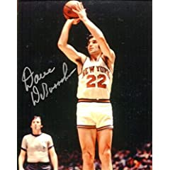 Dave DeBusschere Autographed New York Knicks 8x10 Photo