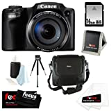 Canon Powershot SX510 HS CMOS 12.1MP 1080p 30x Optical Zoom Digital Camera + 16GB Accessory Kit