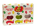 Wax Lyrical Jelly Belly Pack of 6 Assorted Mini Candles, Very Cherry, Lemon Lime & Strawberry Cheesecake