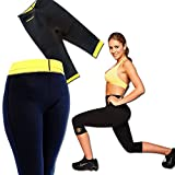 Shopo's Hot Shaper Body Sweat Slimming Fat Burner Power Knee Pant Capri(XL)
