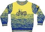 Teeknits Unisex Acrylic and Wollen Sweater (10001, Yellow, 34)