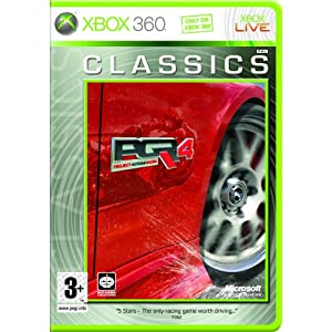 New Xbox games: PROJECT GOTHAM RACING 4 (XBOX 360)