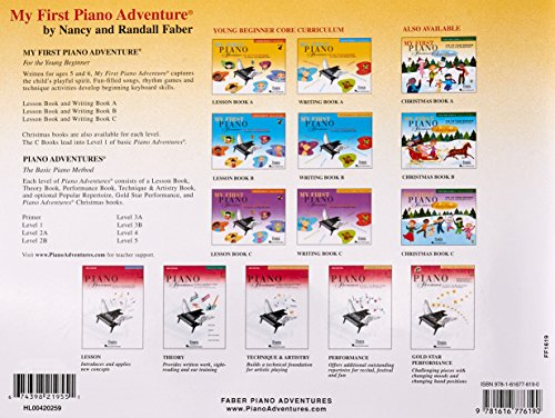 My First Piano Adventure, Lesson Book A, Pre-Reading