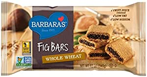 Barbara's Fig Bars, Whole Wheat, 12 Ounce (Pack of 6)