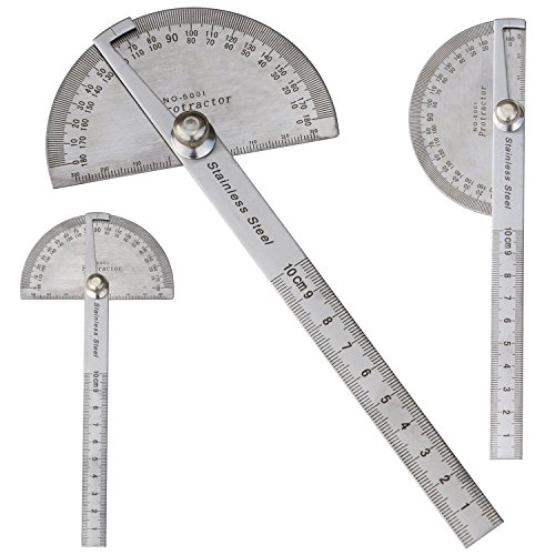 trixes-180-degree-stainless-steel-angle-measuring-protractor-and-100mm-ruler