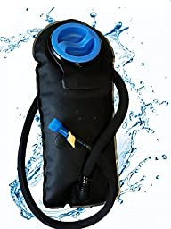 Outfitter Warehouse Hydration Water Bladder for Backpacks - 2 Liter