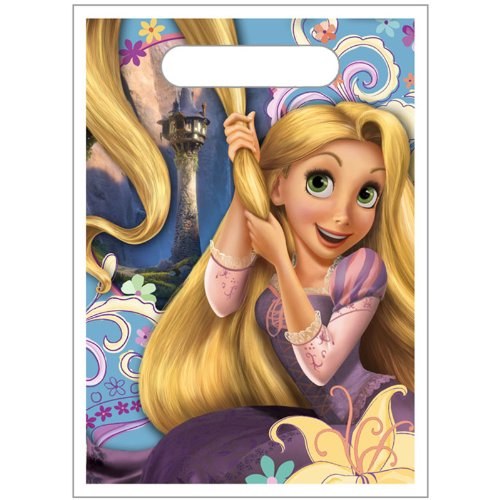 "Disney's Tangled ""Favor"" Treat Bags 8 - Pack Great for Parties"