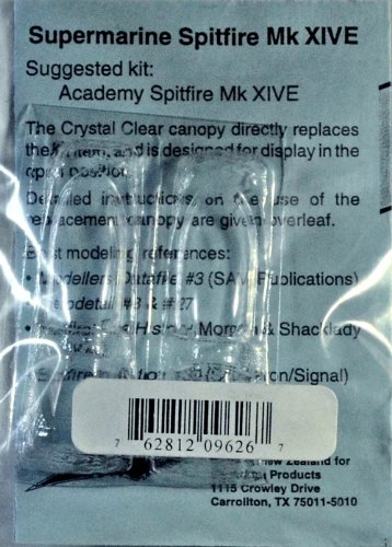 Squadron Products Supermarine Spitfire XIVe Vacuform Canopy