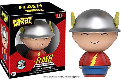 Dorbz: DC - Golden Age Flash Specialty Series Vinyl Figure!
