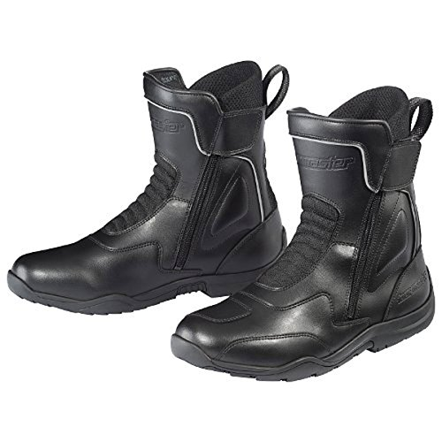 Tour Master Flex WP Dual Zip Men's Leather Street Motorcycle Boots - Black / Size 11 (Street Motor Cycle Boots compare prices)