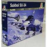 ITALERI 1:72 Aircraft No 059 Sukhoi SU-34 Model Kit
