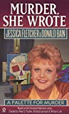 Murder, She Wrote: A Palette for Murder (0451188209) by Fletcher, Jessica