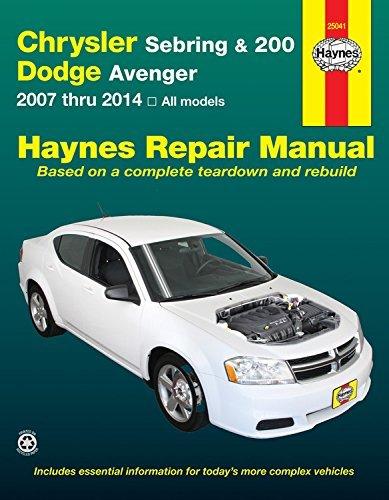 chrysler-sebring-200-and-dodge-avenger-2007-thru-2014-all-models-haynes-repair-manual-by-editors-of-