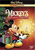 Mickeys Once Upon A Christmas (Disney Gold Classic Collection)