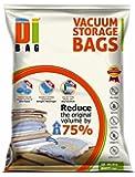 DIBAG ® 6-12 comprimidos vacío del espacio de almacenaje AHORRO DE BOLSAS 100 X 80 CM para la ropa, edredones, ropa de cama, almohadas, cortinas y más. (6)