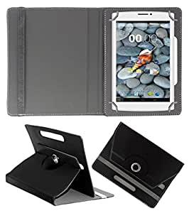 Acm Rotating 360° Leather Flip Case For Swipe Ace Tablet Stand Cover Holder Black