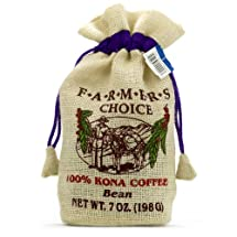Hawaiian Coffee Co, 100% Kona Coffee whole bean, 7 oz