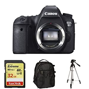 Canon EOS 6D (Body Only) + Accessories