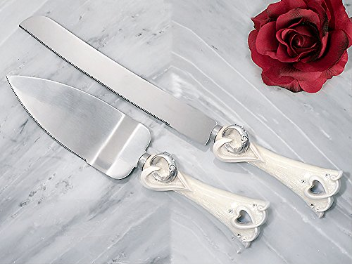 Two Become One Collection Cake and Knife Set